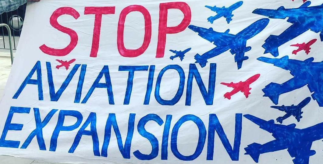 Say No to Expansion of Aviation