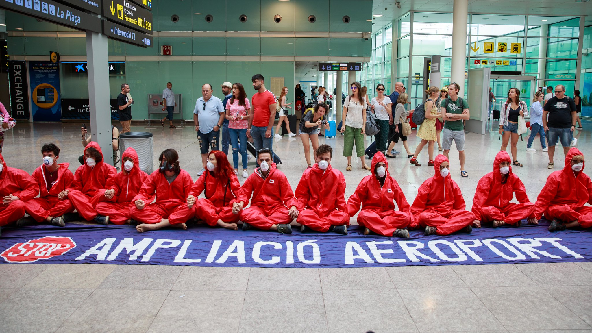 No to Madrid and Barcelona airport expansions