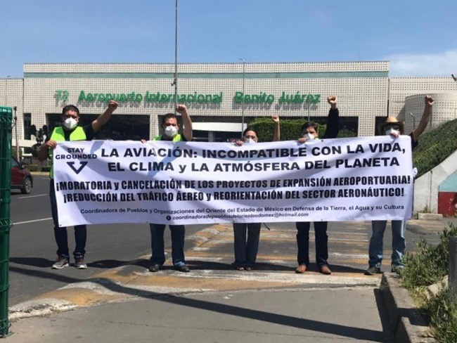 March on Benito Juarez Airport – Those who fight for life, never die!