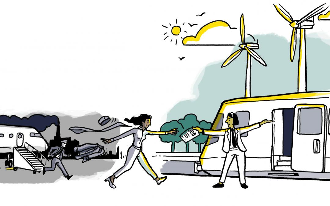 Webinar: Destination Degrowth – Ein gerechter Übergang vom Flugverkehr zur klimagerechten Mobilität