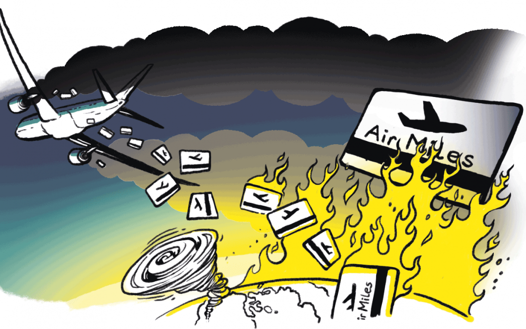Frequent Flyer Programmes Incentivise Climate Destruction